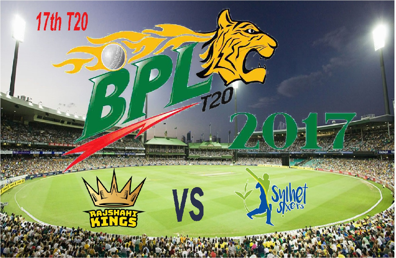 Rajshahi Kings won by 7 wickets against Sylhet