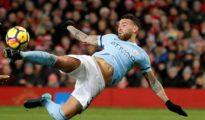 Man City managed victory against Man Utd
