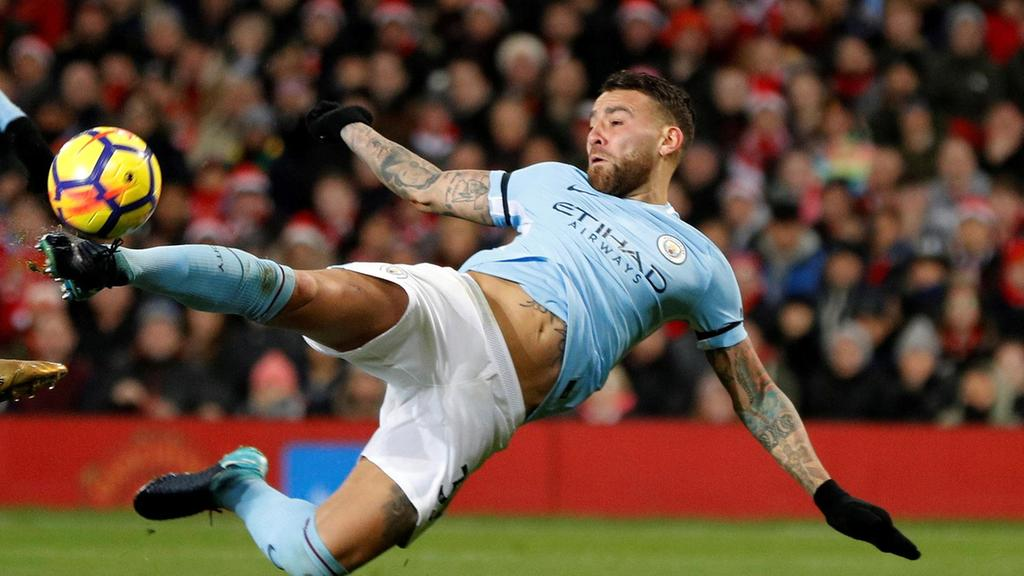 Man City managed victory against Man Utd