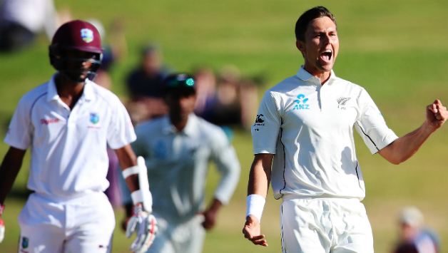 New Zealand won Test series against Windies