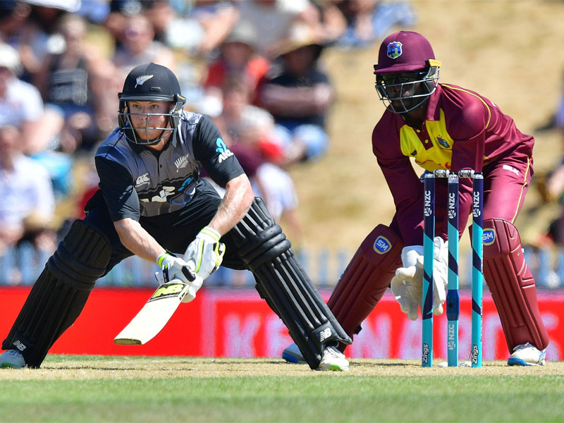 2nd T20 between Black Caps and Windies finished with no result