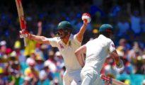 Australia declared 1st innings scoring 649 runs
