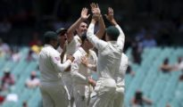 England lost by an innings and 123 runs at Sydney