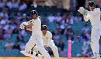 England scored 346 runs in 1st innings at Sydney