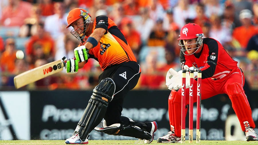 Finally Melbourne Renegades tested a defeat