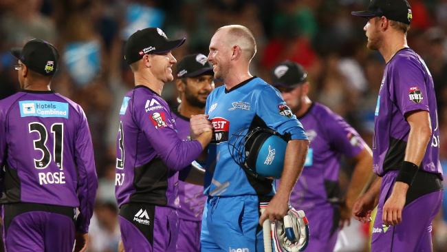 Hobart Hurricanes win by 7 runs