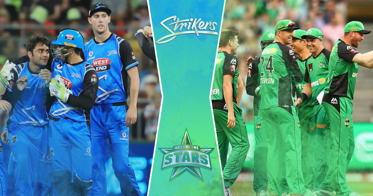 Melbourne Stars were defeated against Strikers in BBL