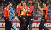 Perth Scorchers won by 6 wickets against Strikers