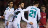 Real beat Numancia in Copa del Rey