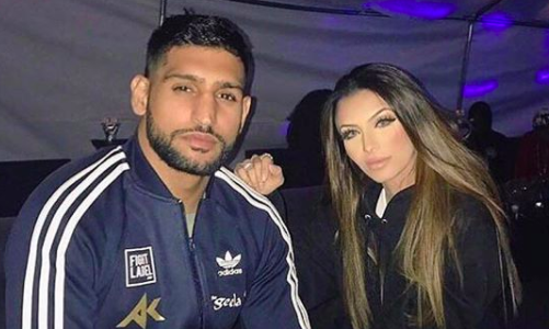 Amir Khan press conference ERUPTS into brawl after Anthony Joshua wife jibe
