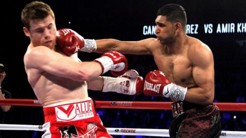 Amir Khan's comeback opponent has been revealed