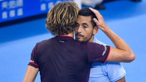 Kyrgios Takes Out Brisbane International