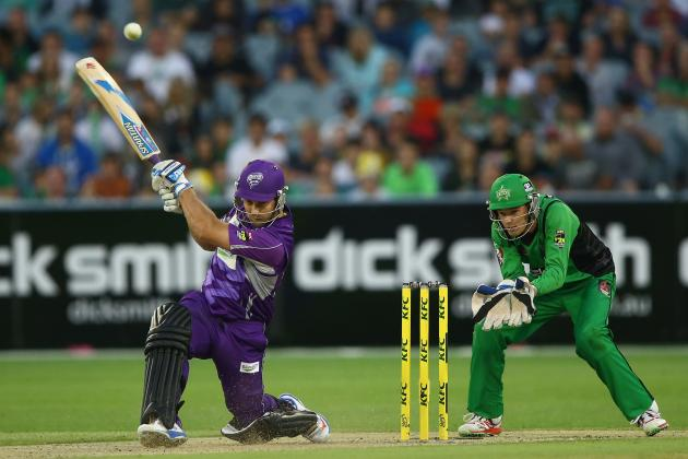 Hobart Hurricanes lost by 3 wickets