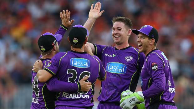 Hobart Hurricanes won 1st semi final
