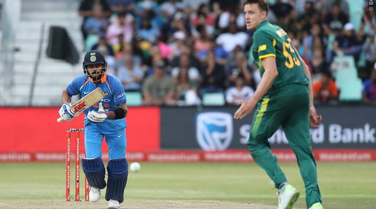 India won 1st ODI against Proteas