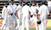 India won by 63 runs at Johannesburg
