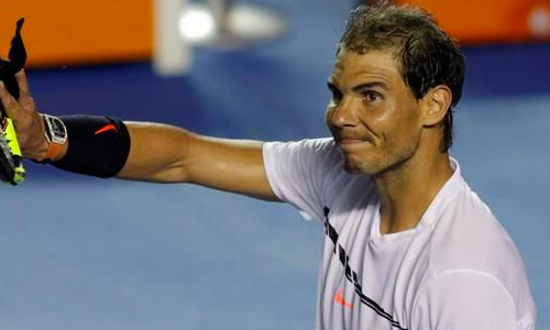 Nadal pulls out of Mexican Open as hip injury flares up