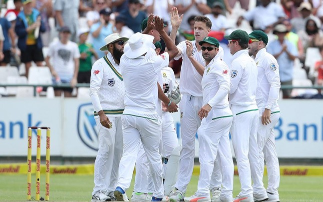 South Africa won by 72 runs at Cape Town