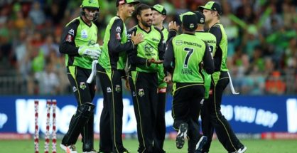 Sydney Thunder won by 7 wickets