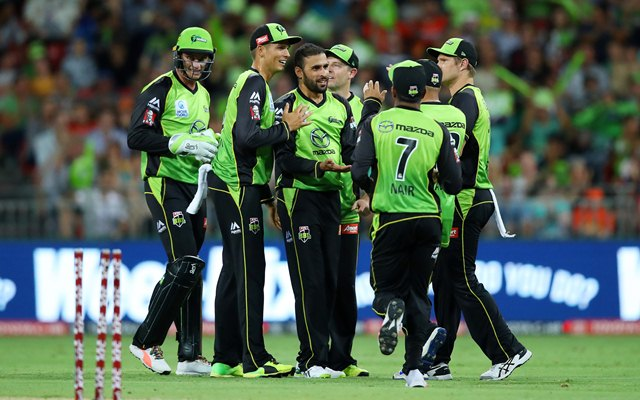 Sydney Thunder won by 7 wickets