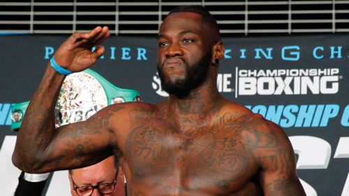 Wilder: Joshua is Not Worldwide, Nobody Knows His Name in US