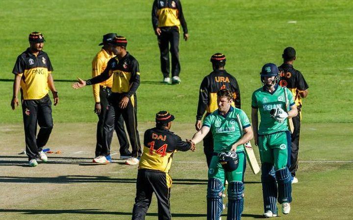 Ireland won by 4 wickets