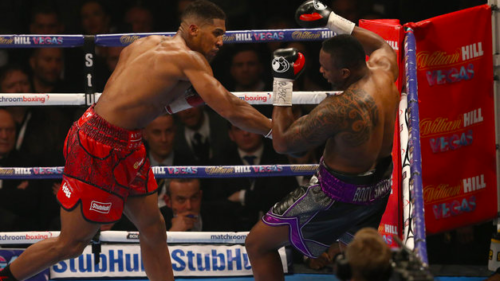 Joshua vs Parker: Weight target kept secret by Anthony Joshua