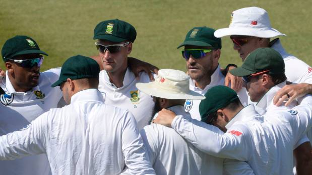 South Africa chasing 417 runs at Durban