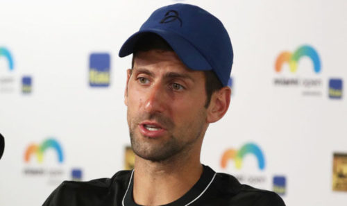 'It's impossible at the moment,' says Djokovic after Miami loss