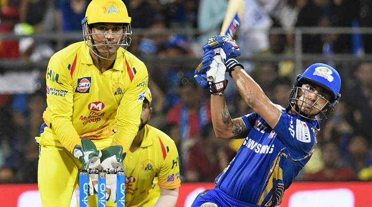 Chennai Super Kings won the first match dramatically