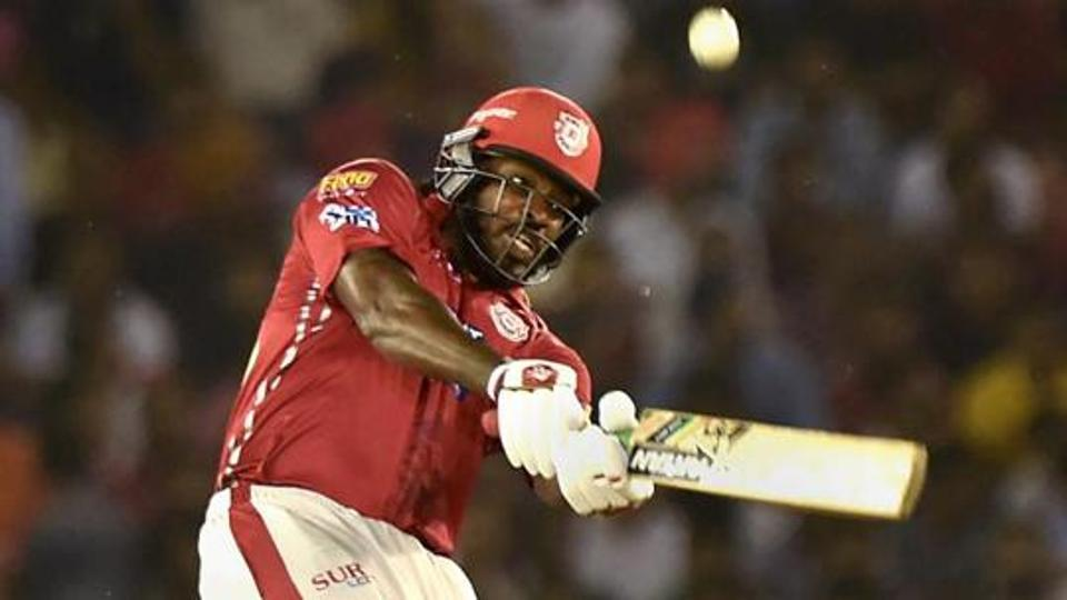 Gayle's century led KXIP to victory