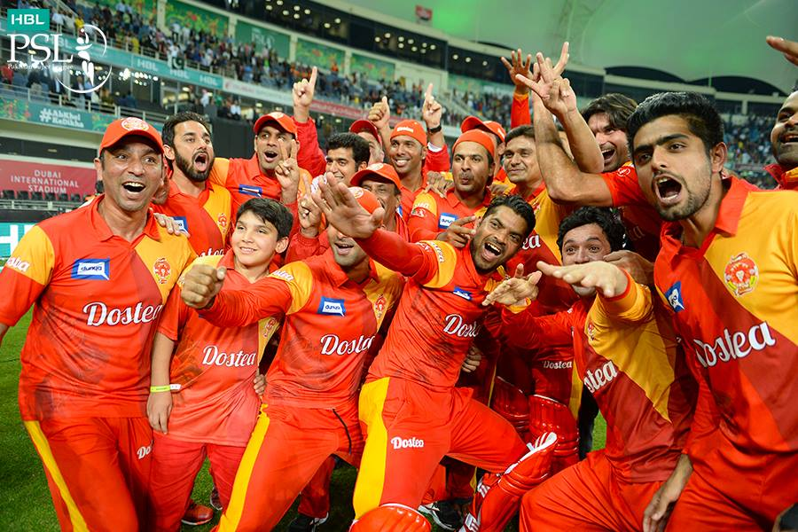 Islamabad United won PSL title for 2nd time