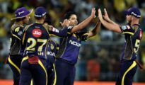 KKR managed a victory at home ground