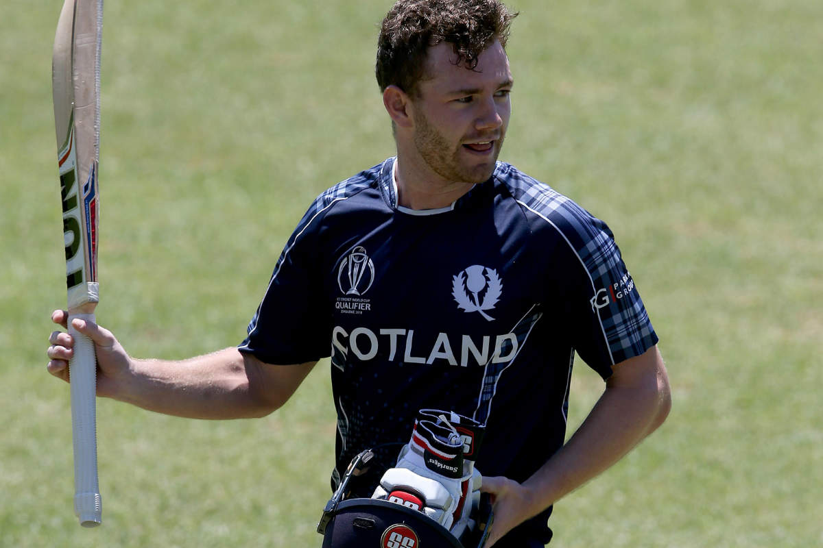 Matthew Cross led Scotland to victory