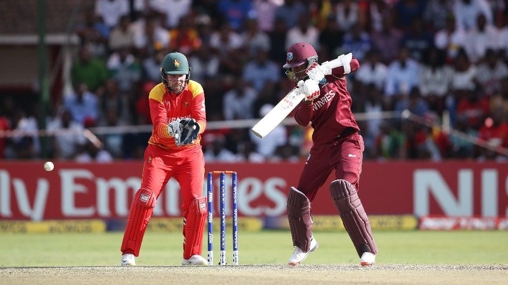 Taylor's century could not save Zimbabwe