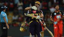 Chris Lynn saved Kolkata Knight Riders at Bangalore