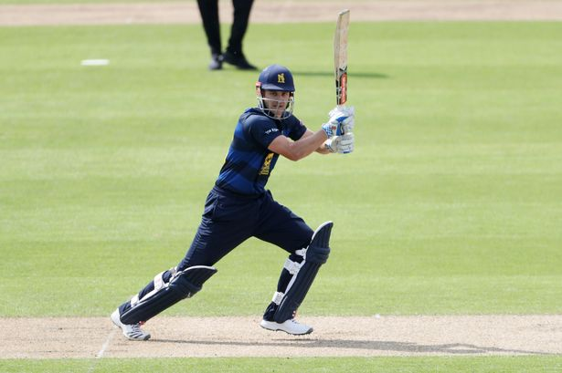 Derbyshire won by 57 runs against Warwickshire