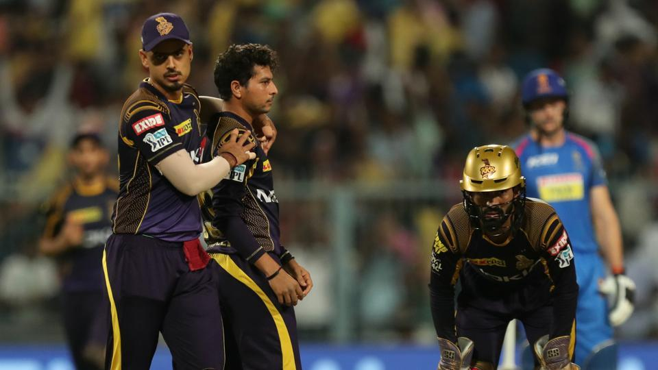 KKR won by 6 wickets against Rajasthan Royals