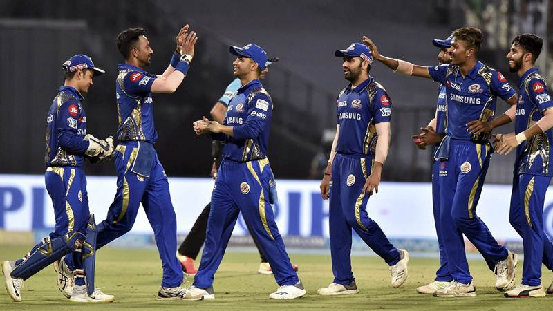 Mumbai Indians got big victory against KKR