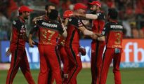 Royal Challengers Bangalore won by 14 runs