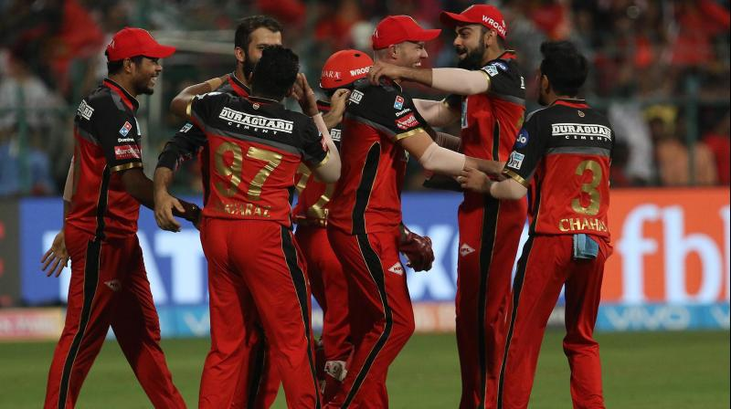 Royal Challengers Bangalore won by 14 runs