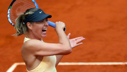 Maria Sharapova lost in the quarterfinals of the tournament in Madrid