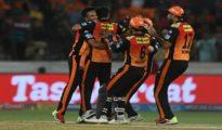 Sunrisers Hyderabad won against RCB by 5 runs