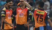 Sunrisers Hyderabad won by 31 runs