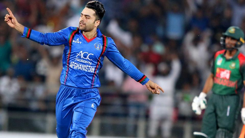 Rampaging Rashid takes Afghanistan to series sealing win