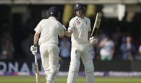 England is in bat for 2nd innings at London