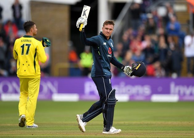England won by 38 runs at Cardiff