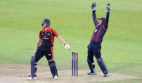 Northamptonshire failed to chase target