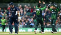Pakistan won T20I series against Scotland