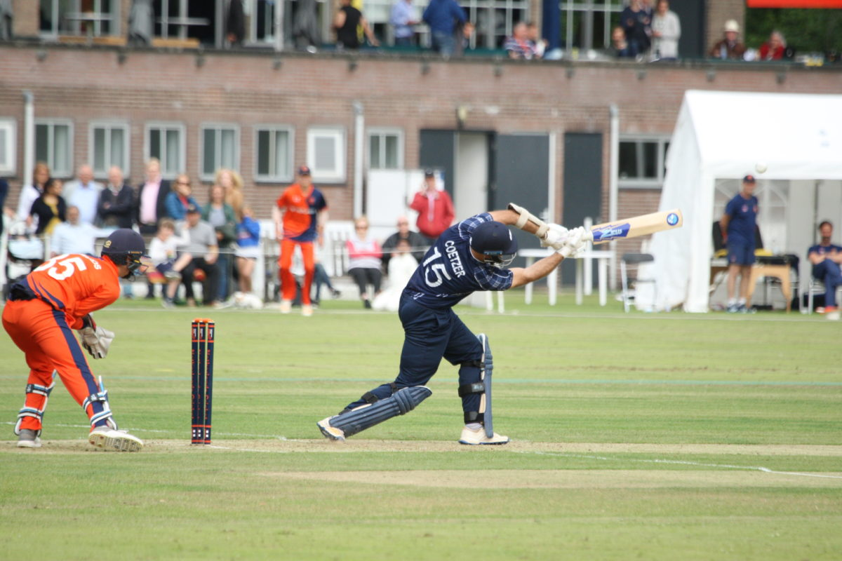Scotland beat Netherlands by 7 wickets